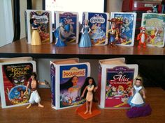 These are what I'm always telling people about and no one remembers!!!! Disney Happy Meal Toys.