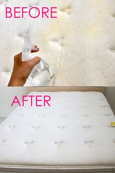 How to Clean Mattress Stains Minute Magic Green Cleaning!) How to Clean Mattress Stains Minute Magic Green Cleaning!),Cleaning hacks How to clean mattress stains naturally in 10 minutes! Deep Cleaning Tips, Green Cleaning, House Cleaning Tips, Spring Cleaning, Cleaning Hacks, Diy Hacks, Cleaning Checklist, Cleaning Products, Clean Mattress Stains