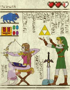Si les scènes cultes de la popculture étaient des fresques égyptiennes.