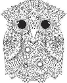 Mom Coloring Pages, Free Adult Coloring Pages, Printable Coloring Pages, Coloring Books, Mandala Art, Colouring Sheets For Adults, Mosaic Patterns, Colorful Pictures, Owl Printable