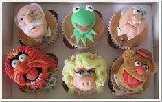 Cool Muppets Cupcakes