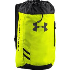The Under Armour Trance SackPack has a reflective logo and a draw string cord opening with breathable shoulder straps. Order now at WrestlingGear. Under Armour Brand, Under Armour Shoes, Soccer Cleats, Soccer Ball, Under Armour Outlet, Soccer Accessories, Urban Outfitters, Soccer Shop, Soccer Equipment