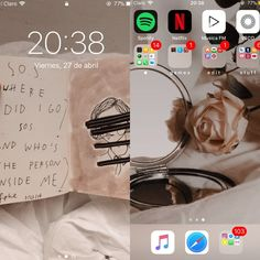 iphone shared by 𝖆𝖓𝖌𝖊𝖑. on We Heart It Wallpaper Iphone Tumblr Grunge, Best Iphone Wallpapers, Organize Apps On Iphone, Apps For Girls, Whats On My Iphone, Iphone Wallpaper Quotes Inspirational, Iphone App Layout, Phone Organization, Homescreen