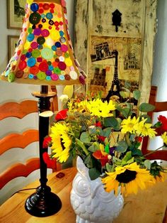 Building your own lampshade is not very difficult, but results can be delightful. You can use any kind of material and you just need to follow a few steps: http://impressivemagazine.com/2013/06/25/how-to-build-your-own-lampshade/