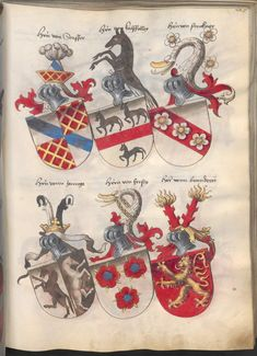 Grünenberg, Konrad: Das Wappenbuch Conrads von Grünenberg, Ritters und Bürgers zu Constanz um 1480 Cgm 145 Folio 230