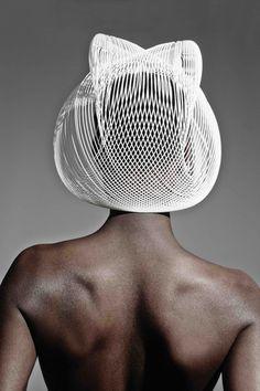 3D-gedruckt: Hutkreation von Gabriela Ligenza