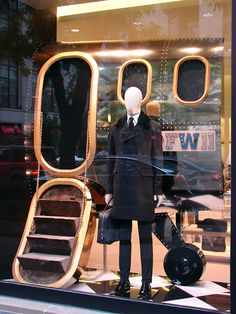 "Original caption said ""Beautiful Window Displays!: prada"", I think they meant ""slenderman""."