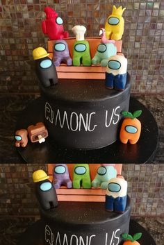 10th Birthday Parties, Girl Birthday, Funny Cake, Mario Party, Wallpaper Iphone Cute, Cute Food, How To Make Cake, Decor Crafts, Amazing Cakes