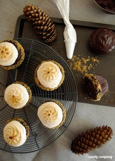 S'more Cupcakes, so delicious give it a try