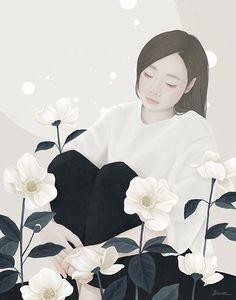 Peaceful / 2016 / Digital Painting / ⓒ ENSEE - Choi Mi Kyung