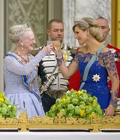 Queen Maxima attends state banquet in Denmark - Photo 2 | Celebrity news in hellomagazine.com