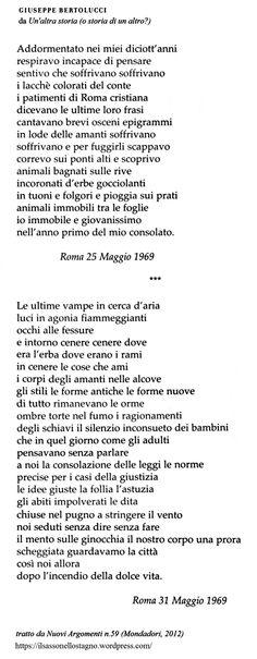Giuseppe Bertolucci - Il sasso nello stagno di AnGre