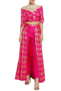 Buy Sheer net embroidered yoke blouse with lehenga by Masaba at Aza FashionsYou can find Western dresses and. Indian Attire, Indian Outfits, Stylish Dresses, Women's Fashion Dresses, Elegant Dresses, Indian Designer Suits, Kurti Designs Party Wear, Sharara Designs, Indian Gowns Dresses