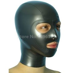 Latex Mask Open Eyes and Nostrils Rubber Unisex Hood Unique Club Wear. Category: Novelty & Special Use. Latex Wear, Latex Hood, Rubber Raincoats, Mask Party, Costume Accessories, Clubwear, Hoods, Unisex, Eyes
