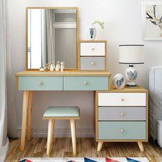 Study Room Design, Room Design Bedroom, Bedroom Furniture Design, Room Interior Design, Room Ideas Bedroom, Home Room Design, Home Decor Bedroom, Room Decor, Dressing Table Design