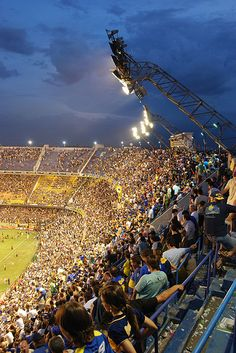 Definitely want to see a Boca game in La Bombonera! (Buenos Aires, Argentina)