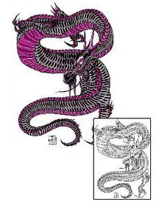 Dragon Tattoos DFF-01008 Created by Damien Friesz