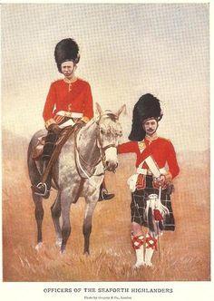 OFFICERS OF THE SEAFORTH HIGHLANDERS Boer War
