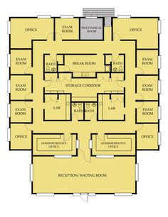 Fabulous Medical Office Floor Plans » Picture ID 2670