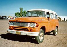 1964 Dodge Town Wagon (Angle View)