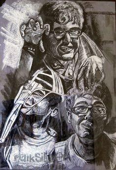 David J Handsman West Orange Nj Pencil Sketches Art