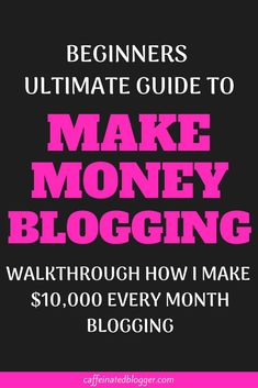 In this video I will show you exacly how I make money blogging since the beginning of my blogging career. You will learn all my blogging monetization strategies and I will show you how you can use them. This is a step-by-step tutorial, and my strategies work for any niche.