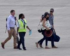 Prince Harry and his girlfriend Meghan Markle are visiting southern Africa in celebration of her 36th birthday, sparking rumors that the Prince could be intending to propose, The Sun reports.  The exact country where they visited is not yet known but it may be any of the following: Angola, Botswana, Lesotho, Malawi, Mozambique, Namibia, South Africa, Swaziland, Zambia, and Zimbabwe.  The two were pictured arriving at the airport, the 32-year-old Prince with an arm draped over Meghan.  A…