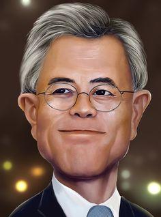 caricature, mk five on ArtStation at https://www.artstation.com/artwork/BzEaD