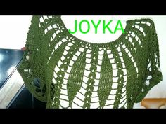 Blusa Tejida Lluvia De Hojitas (JOYKA) - YouTube