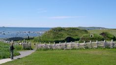 wallpaper L'Anse Aux Meadows historic sites in Canada