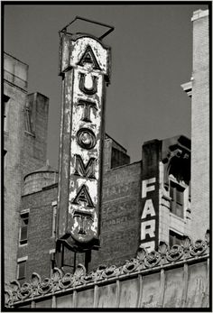 Automat 1988 NYC / by Matt Weber / Why did the Automat (which I remember as the most exciting place in the world) go out of business?