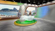 NBCSN studio for Rio 2016