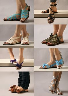 Interchangeable sandals from Mohop. Handmade and very cool. Comes in a variety of heel heights as well.