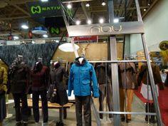 Visual Merchandising Nau Booth Outdoor Retailer 2014