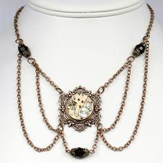 Steampunk Necklace | Steampunk necklace
