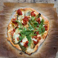 Pizza mit Weizensauer - Rezept von Martin Johansson: / Valentinas Kochbuch