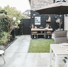 Back Garden Design, Backyard Garden Design, Rooftop Garden, Small Backyard Gardens, Back Gardens, Outdoor Gardens, Outdoor Kitchen Bars, Garden Shower, Garden Deco