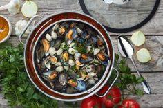 10 Tage, 10 Gerichte - Tag 7: Muscheln in Tomatensauce - Graziella's Food Blog