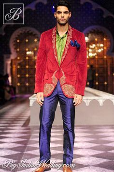 Raghavendra Rathore menswear collection 2013