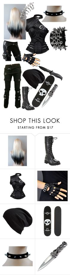 """""""Being a pain"""" by buttercupz on Polyvore featuring Bakers, Echo and Zero"""