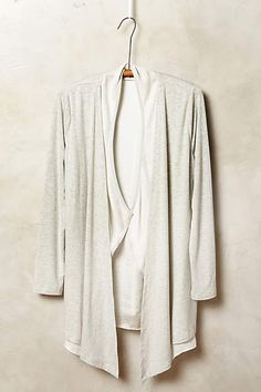 I'm in the market for a lightweight, off-white cardi that could dress up or down