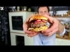 Így kell otthon hamburgert sütni - YouTube Hamburger, Youtube, Beef, Ethnic Recipes, Kitchen, Success, Food, Meat, Cooking