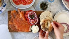 E. Vil brunch- Russ and daughters