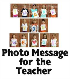 It's Written on the Wall: [Freebies} Excellent Teacher Appreciation Gift Ideas. Just enough letters if spelled out for class Teacher Retirement Gifts, Student Teacher Gifts, Teacher Thank You, Your Teacher, Thank You Gifts, School Teacher, Teacher Letters, Teacher Photo, Volunteer Appreciation