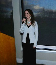 Elizabeth Storms singing the National Anthem at The Business Excellence Awards, from Northumberland Today (Friday's issue).