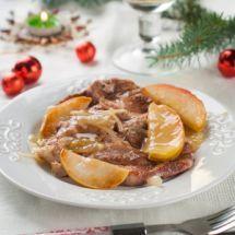 Steaks d'autruche aux pommes sur Recettes.net