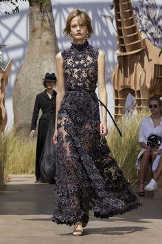 Dior Fashion Show Haute Couture Collection Fall Winter 2017 in Paris