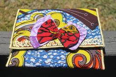 Ankara Mixed Print Clutch by ImoseBoutique on Etsy, $28.00