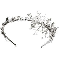 Jasmine ❤ liked on Polyvore featuring accessories, hair accessories, jewelry, crowns, headbands, headband hair accessories, hair band accessories, crown headband, headband crown and head wrap headband
