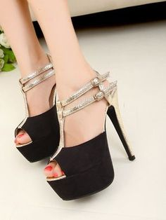 Hot Fashion Peep Toe Pump Shoes